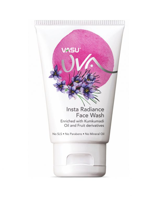 Uva Insta Radiance Face Wash by Vasu Healthcare