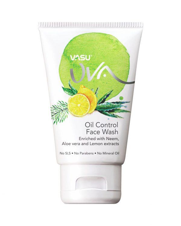 Uva Oil Control Face Wash by Vasu Healthcare