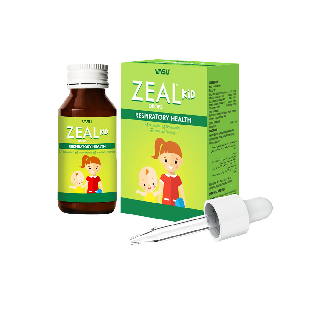 Zeal Kid Drops - Vasu Healthcare