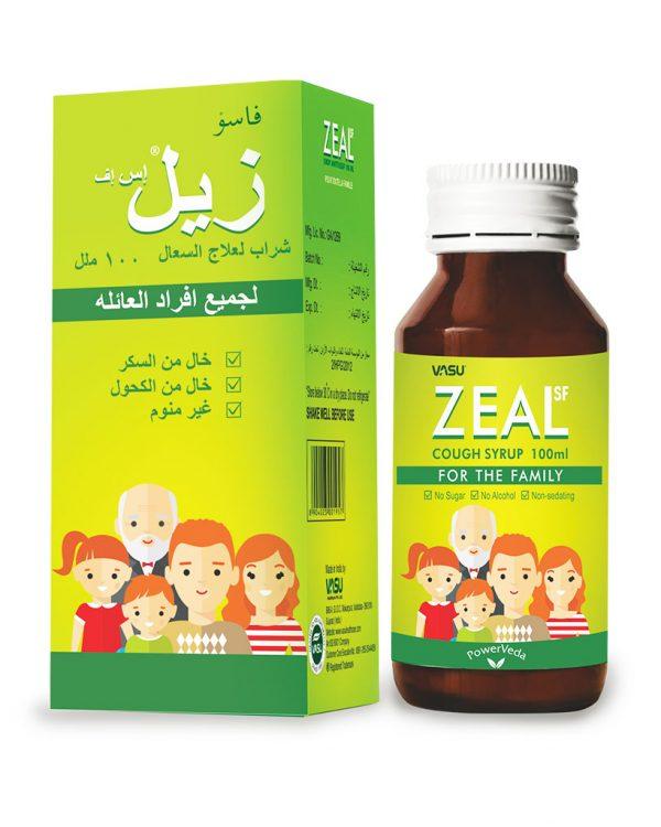 Zeal Sugar Free Cough Syrup