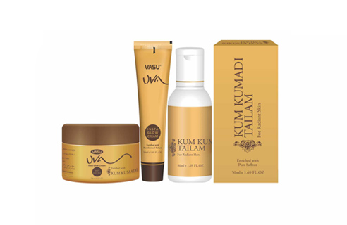 Uva Skin Care Products by Vasu Healthcare