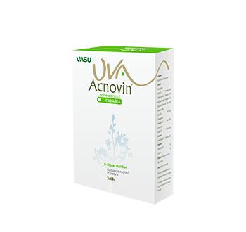 Uva Acnovin Capsule by Vasu Healthcare