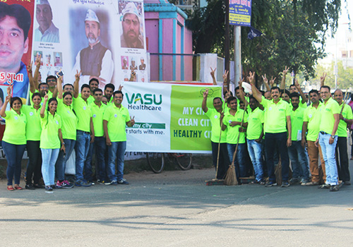 My City, Clean City Event by Vasu Healthcare