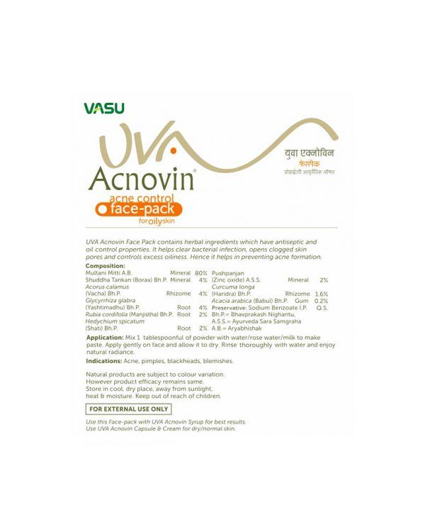 Vasu Uva Accnovin Face Pack