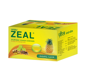 Zeal Cough Lozenges by vasu Healthcare