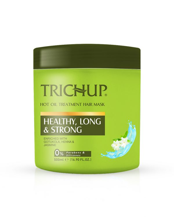 Trichup-Healthy-Long-&-Strong-Hot Oil Treatment Hair Mask-to-get-healthy-long--strong-soft & shiny hair