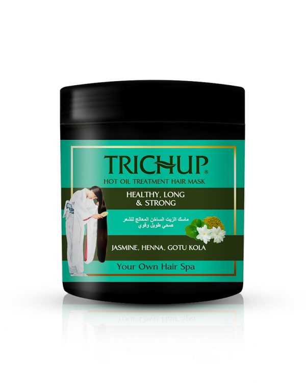 Trichup Healthy long & Strong Hot Oil Treatment Hair Mask for salon like silky hair at home