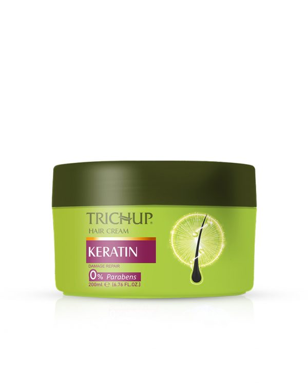Trichup Keratin Cream with keratin for soft & shiny hair