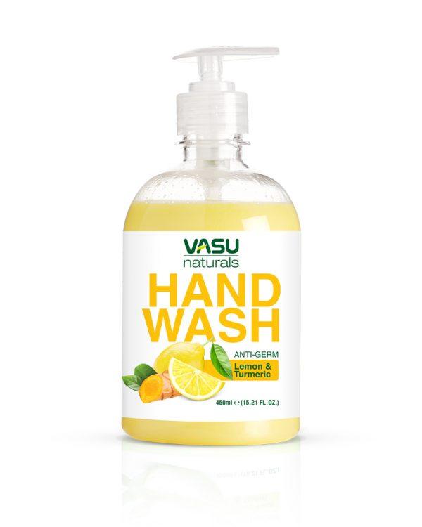 Vasu Naturals Lemon-&-Turmeric-Hand-Wash