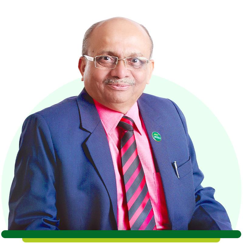 Mr. Jayanti Ukani - Former Director of Vasu Healthcare