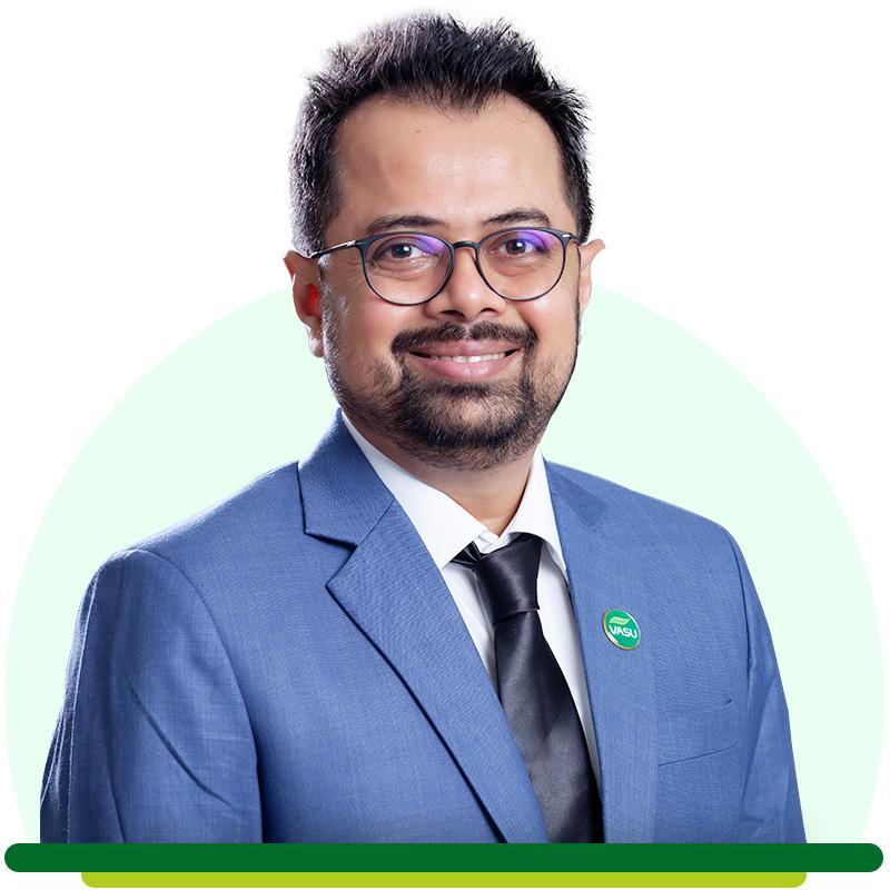 Mr. Meet Ukani - Director of Vasu Healthcare