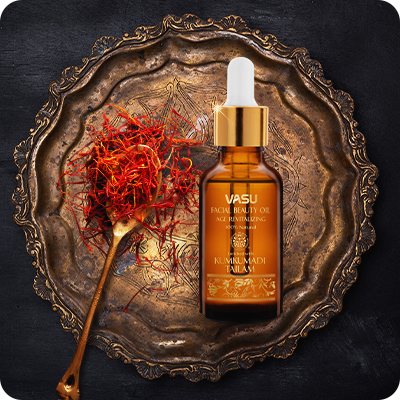 Vasu Facial Beauty Oil with Kumkumadi Tailam