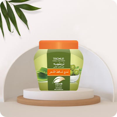Best Ways to Stop Your Hair Fall with Trichup Hair Fall Control Herbal Hair Cream
