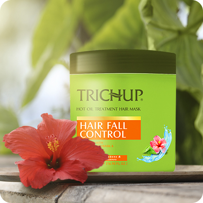 Best Ways to Stop Your Hair Fall with Trichup Hair Fall Control Hot Oil Treatment Hair Mask