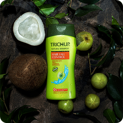 Best Ways to Stop Your Hair Fall with Trichup Hair Fall Control Natural Shampoo